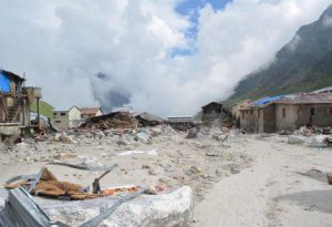 The worst flooding in fifty years hit the Himalayas this year (Photo by Sanjay Semwa).