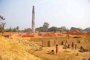 Over 5,000 acres of farmland in Tripura had been converted into brick kilns in the past decade [Image by: Alamy]
