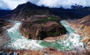 China and India are prioritising short-term hydropower benefits over the long-term health of the river (Image by Yang Yong)