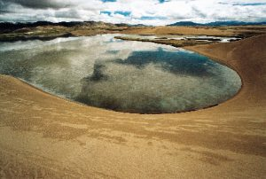 Desertification has turned transformed swathes of the upper Yarlung Tsangpo into desert (Image by Yang Yong).