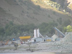 The Kishanganga project site in 2012 [image by Athar Parvaiz]
