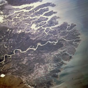 Indus D(Photo of Indus Delta from NASA)