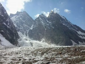 Rising temperatures, black carbon and a stronger monsoon are driving glacier melt in northern Pakistan's Gilgit-Baltistan province