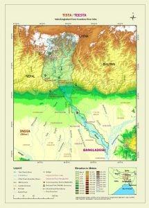 India Bangladesh Transboundary river map