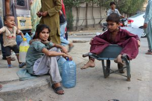 Living with the heatwave in Karachi (Image by Zofeen T. Ebrahim)