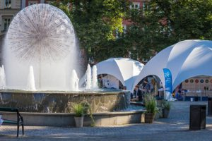 At the 2015 World Water Week in Stockholm (Image by Stockholm International Water Institute)
