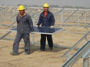 The 1,000 MW the Quaid-e-Azam solar park in Punjab (Photo courtesy of QASP)