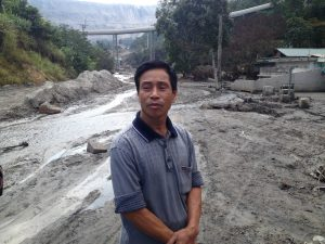 Bui Ngoc Toan, a coal miner from Cam Pha, said his home was badly damaged by summer flooding