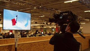Focussing on the divided SAARC delegations at COP21 (image by Carlos García Granthon)