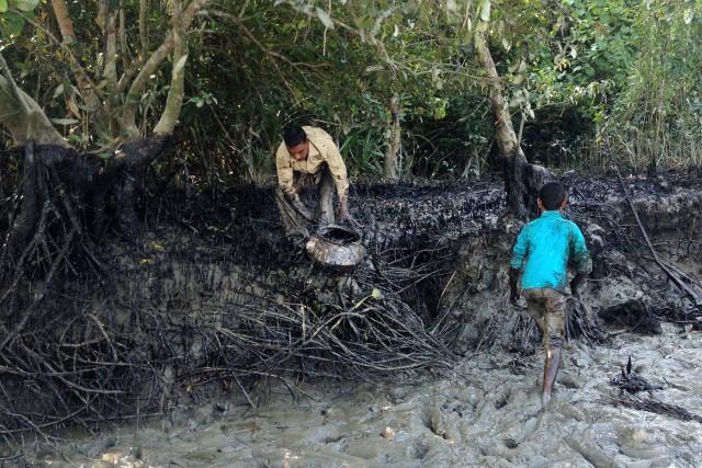 Rescuing the Sundarbans from the oil spil