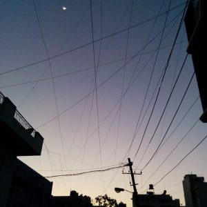 A tangled web of wires typifies the electricity subsidy situation in India [image by Nicolas Mirguet]