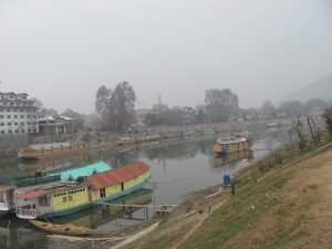 The Jhelum, central to Kashmir's beauty, is under threat [image by Athar Parvaiz]