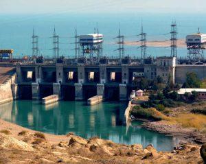 Qairokkum dam in northern Tajikistan [Image by Climate Investment Fund]