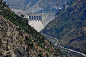 Baglihar Hydroelectric Power Project on the Chenab River at Doda district of Jammu and Kashmir, India (Photo: ICIMOD)