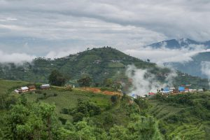 An early morning view of Timal village, Kavre