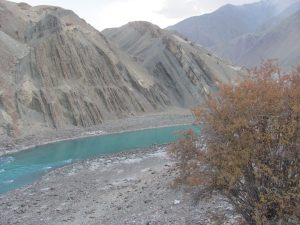 The Indus River flowing through Ladakh in J&K [image by Athar Parvaiz]