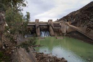 A dam on the Kabul River(Photo: Flickr/ Peretz Partensky)