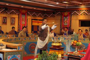 The Bhutanese National Council in session [image courtesy National Council]
