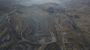 Mining area in Shanxi, Datong, 2016
