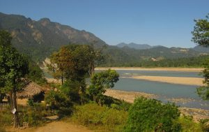 The Siang river at Pasighat [image by Chandan Kumar Duarah]