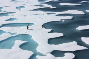 As the Arctic ice continues to melt, we must approach the challenge with some hope [image by: NASA/Kathryn Hansen]