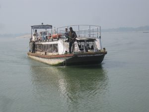 A ferry in Guwahati - basic transport that could be so much more [image by Chandan Kumar Duarah]