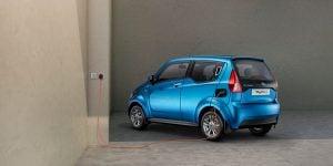 The Mahindra e20 electric car