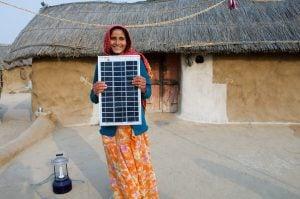 Legga village solar electrified by woman barefoot solar engineers, Rajasthan [image by: Knut-Erik Helle]