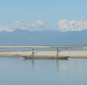 Changing with the Brahmaputra