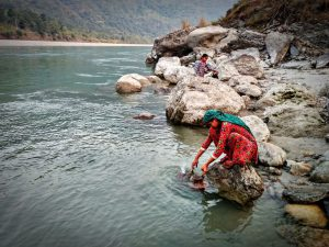 The Mahakali river is a source of socio-cultural and religious identity for the people of the region [image by: Sumit Mahar]