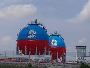 A new gas plant on the edge of the Sundarbans [image by: Pinaki Roy]