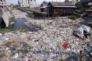 landfill in Dhaka