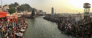 A worship of a river that is itself under threat [image by: Siddharth Agarwal]