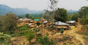 Most families in the remote village of Aung Thuwai Pru Para village couldn't afford electricity until now (photo credit: Oporajeo)