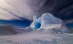 Iceberg off the Antarctica coast [Image by: National Centre for Polar and Ocean Research, India]