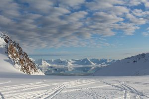 Feiringbreen glacier in the Arctic, being studied by Indian scientists for clues to the South Asian monsoon [Image by: National Centre for Polar and Ocean Research, India]