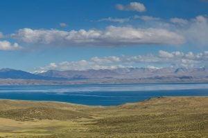 Mansarovar lake (God's Lake) south of Mount Kailash Tibet, China [image by: Nabin Baral]
