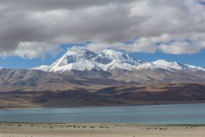 Rakchaas Taal (Demon Lake) south of Kailash. Many Nepalese believe it is the source of the Karnali, but scientists dispute this [image by: Nabin Baral]