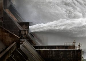 Xiaolangdi Dam on the Yellow River, Henan Province (Photo by Sjonnie van der Kist )