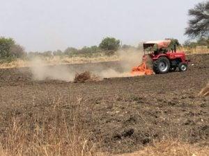 Ploughing in the hope of rain raises clouds of dust in sun-baked Marathwada (Photos: Joydeep Gupta)