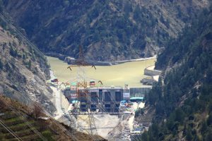 The Karcham Wangtoo hydropower project site at Kinnaur district, Himachal Pradesh , India [Image by: Wikimedia Commons]
