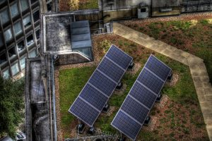 Rooftop solar panels [Image by: Flickr]