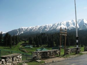 Gulmarg, a key site to study effects of climate change in the Himalayas, has remained out of bounds to scientists for over two months, and they have not been able to stick to their data collection schedules [image by: Basharat Alam Shah / Flickr]