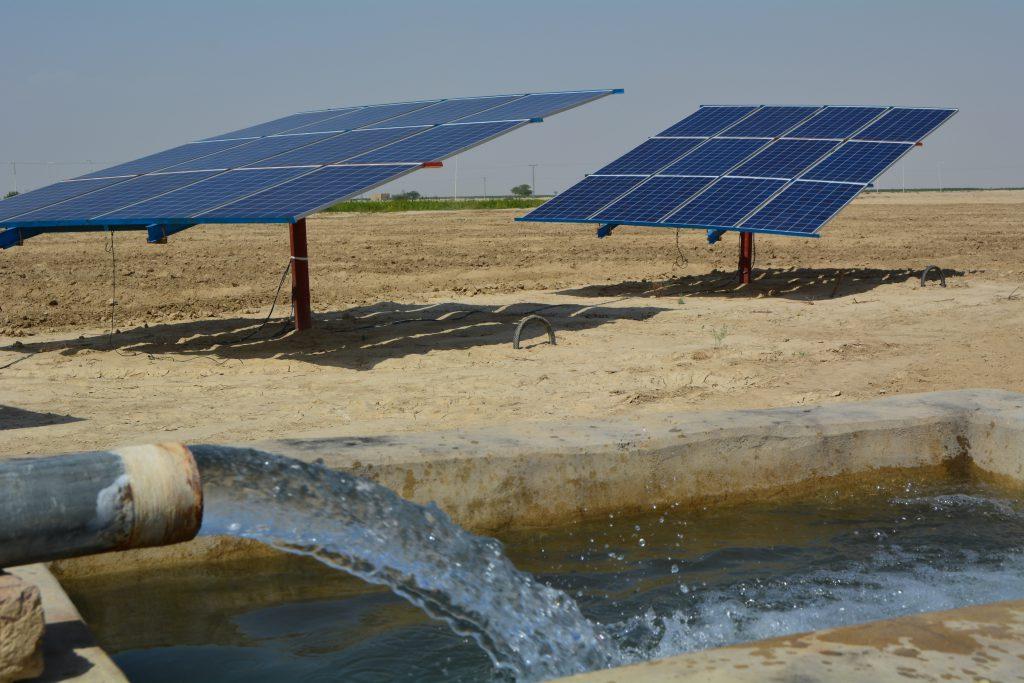solar panels in Sindh Kachho region