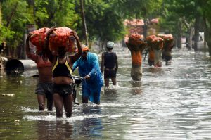Record-breaking rainfall exposed the dysfunctional urban planning and corruption in Patna (Image: Xinhua/Alamy)