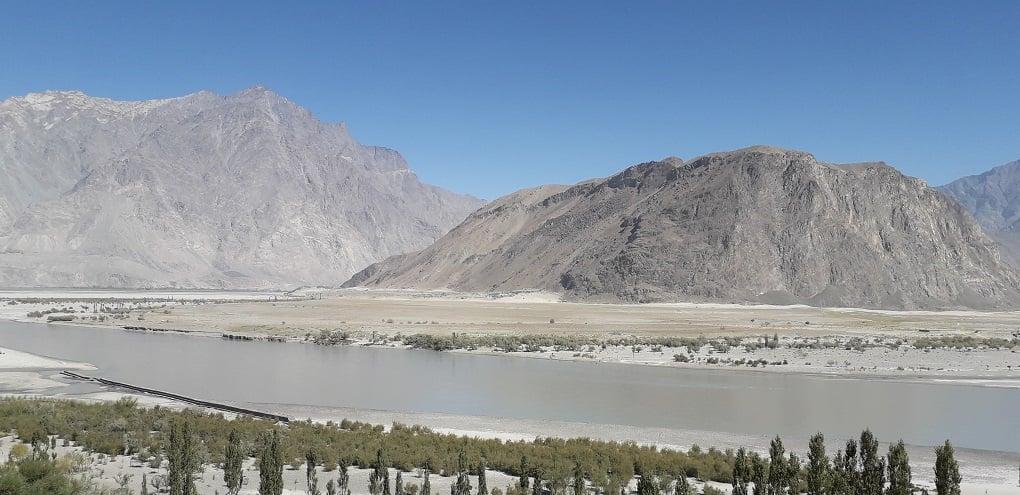 The Indus flowing near Skardu