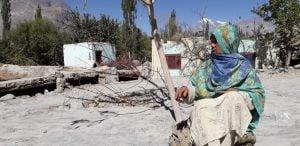 Ruqqaiya Bibi of Kotham Pine is still waiting for an opportunity to restart her life [image by: Shabina Faraz]