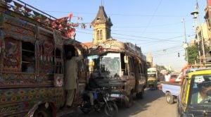 FFVs electric vehicles on Karachi roads