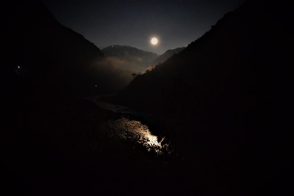 Moonlight on the Mahakali