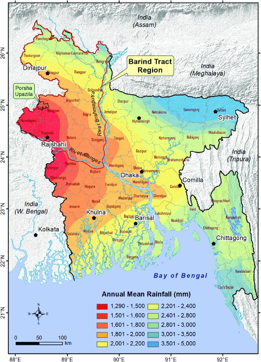 Barind Tract Region
